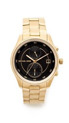 Michael Kors Briar Watch Gold Black
