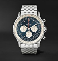 Breitling Navitimer 1 Chronograph 46Mm Steel Watch Navy