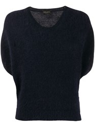 Roberto Collina Knitted Short Sleeved T Shirt 60