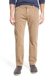 7 For All Mankind The Straight Leg Luxe Performance Jean Beige