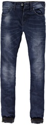 Garcia Medium Wash Mid Rise Jeans Blue