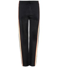 Etoile Isabel Marant Dobbs Striped Trousers Black