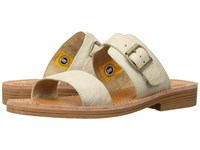 Caterpillar Casual Lakyn Cloth Women's Sandals White
