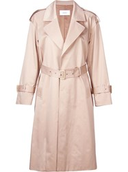 Astraet Classic Trench Coat Brown