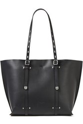 Rag And Bone Woman Field Studded Leather Tote Black