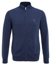 Gant Cardigan Denim Blue Melange