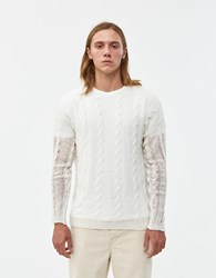 Our Legacy Popover Roundneck Sweater White