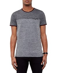 Ted Baker Two Tone Tee Charcoal