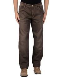 Carlo Chionna Trousers Casual Trousers Men Brick Red