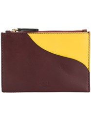 Atp Atelier Tino Zip Pouch Brown