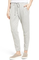 Gibson Women's Ankle Zip Jogger Pants Heather Grey