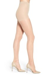 Nordstrom Plus Size Women's Control Top Pantyhose Light Nude