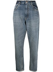 Brunello Cucinelli High Rise Tapered Jeans 60