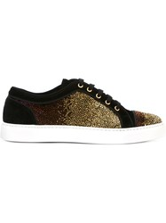 Louis Leeman Gradient Effect Sneakers Black