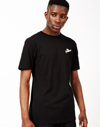 The Hundreds Slant Crest T Shirt Black