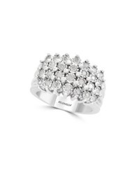 Effy 925 Sterling Silver And 0.49Tcw Ring