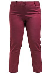 Eloquii Kady Trousers Vin Rouge Dark Red
