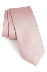 The Tie Bar Herringbone Vow Silk Dusty Lavender