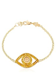 Netali Nissim Protected Big Eye Yellow Gold Bracelet