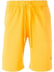 Futur 'Squash' Shorts Yellow And Orange