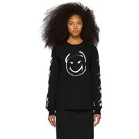 Undercover Black Happy Face Long Sleeve T Shirt