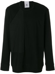 Lost And Found Rooms Double Sleeved T Shirt Cotton Black