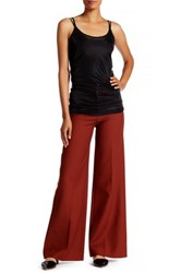 Helmut Lang High Waisted Pant Red