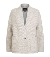 Set Chunky Knit Cardigan Female