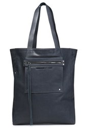 Mcq By Alexander Mcqueen Leather Tote Storm Blue