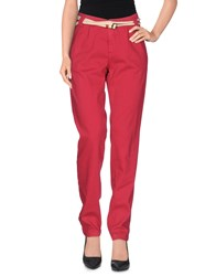 Franklin And Marshall Trousers Casual Trousers Women Garnet