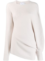 Christian Wijnants Klea Asymmetric Jumper Neutrals