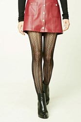 Forever 21 Geo Cutout Tights