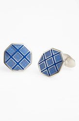 Men's David Donahue Octagon Cuff Links