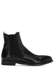 Alberto Fasciani 30Mm Horse Leather Chelsea Boots Black