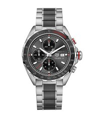 Tag Heuer Formula 1 Steel And Ceramic Bracelet Watch Caz2012ba0970 Silver