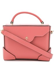 Manu Atelier Small Box Bag Pink