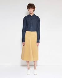 Christophe Lemaire Flared Skirt Ginger