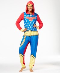 Briefly Stated Wondermom Hooded Jumpsuit Wonder Woman