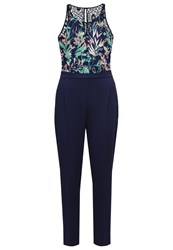 Morgan Jumpsuit Bleu Marine Dark Blue