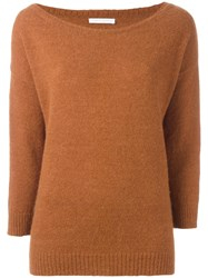 Societe Anonyme Oversized Jumper Brown