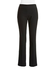 Nic Zoe Boot Cut Stretch Pants Black Onyx