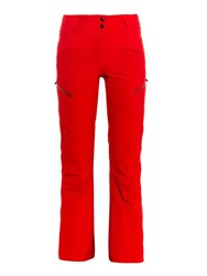Perfect Moment Insulated Performance Ski Pants Red