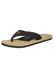 Dc Shoes Central Flip Flops Wood Light Brown