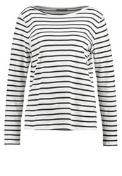 Petit Bateau Long Sleeved Top Coquille Smoking Off White