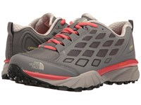 The North Face Endurus Hike Gtx Smoked Pearl Grey Cayenne Red Women's Shoes Brown