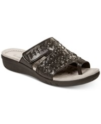 Bare Traps Jeaney Wedge Sandals Women's Shoes Black
