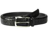 Stacy Adams Big And Tall Ozzie Black Men's Belts