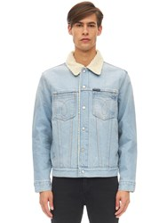 Calvin Klein Jeans Slim Sheppard Cotton Denim Jacket Blue