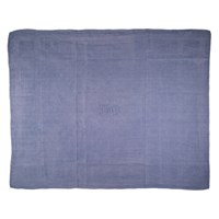 Vintage French Dyed Linen Napkin Grey