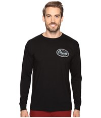 O'neill Backyard Long Sleeve Screen Tee Imprint Black Men's T Shirt
